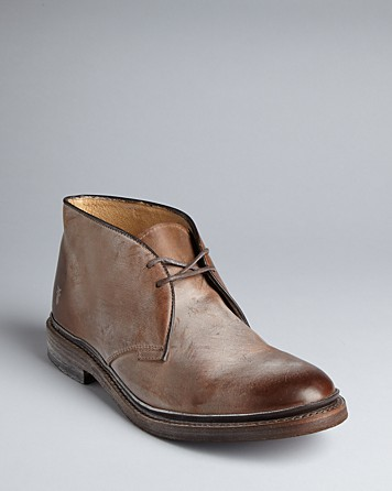 Lyst Frye James Chukka Boots In Brown For Men