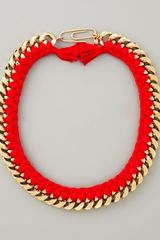 Aurelie Bidermann Braided Chain Necklace - Lyst