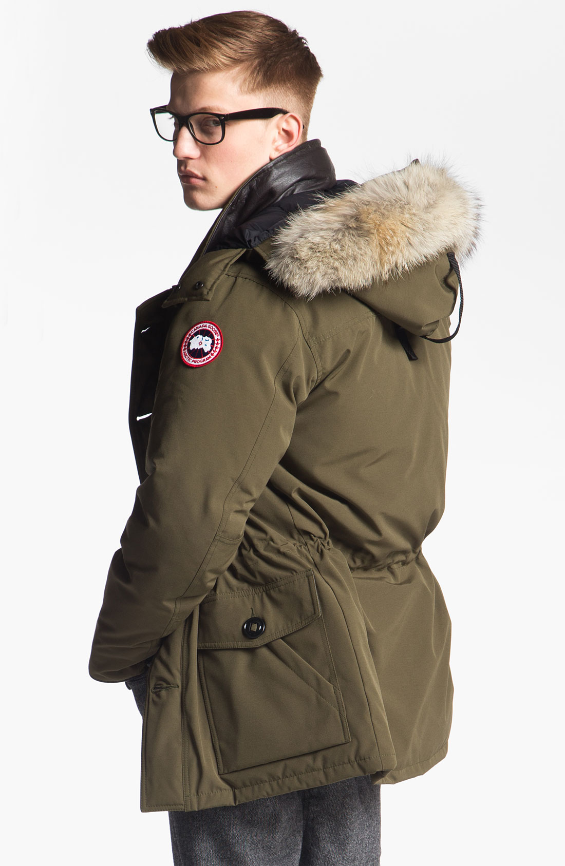 Canada Goose mens online official - Canada goose 'banff' Slim Fit Parka With Genuine Coyote Fur Trim ...
