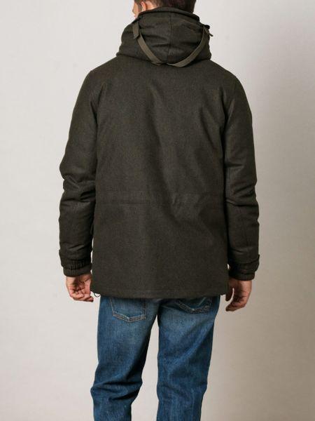Moncler R Meldon Techwool Coat In Green For Men Lyst