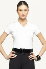 Ralph Lauren Black Label Mercerized Cotton Jersey Polo - Lyst