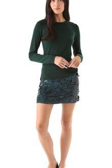 Theory Baraly Sequin Skirt - Lyst