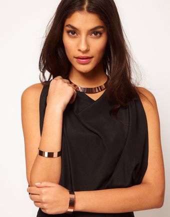 Asos Torque Necklace and Pair Of Cuffs - Lyst