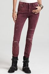 Free People Pants High Rise Skinny Stretch Corduroy - Lyst