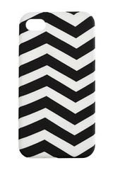 J.crew Printed Iphone 4 Case in White (black white) - Lyst