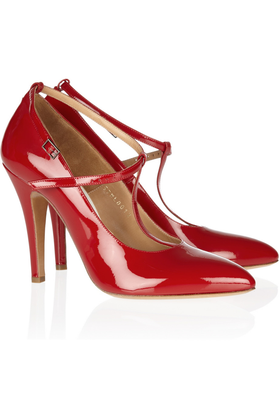 Patent Leather Red Heels