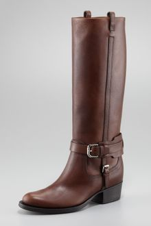 Ralph Lauren Isareen Knee Boot - Lyst