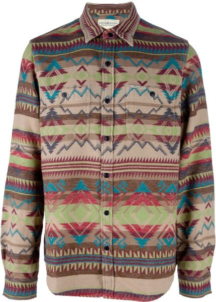 Ralph Lauren Patterned Shirt in Multicolor for Men (nude)