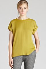 Reiss Top Eleanor Button Back - Lyst