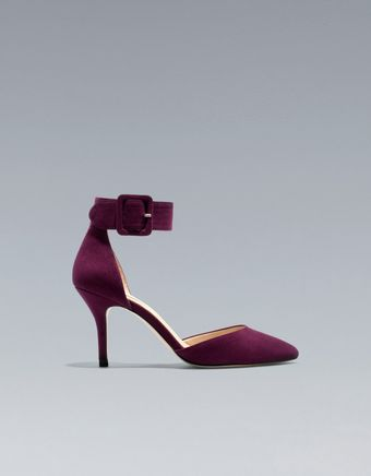 Zara Basic Vamp and Heel - Lyst
