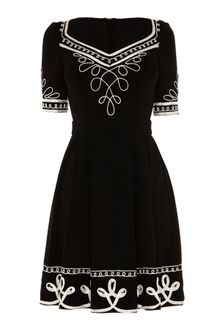 Alice By Temperley Mini Blake Dress - Lyst