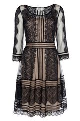 Alice By Temperley Lottie Dress in Black (black mix) - Lyst