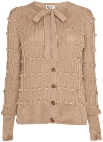 Alice By Temperley Short Harper Cardigan - Lyst