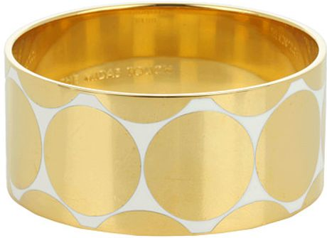 Kate Spade The Midas Touch Idiom Bangle in Gold (c) - Lyst