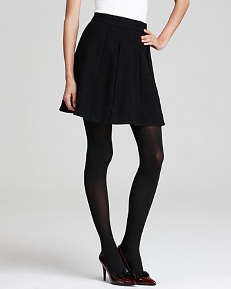 Marc By Marc Jacobs Skirt Blythe Double Knit Wool in Black - Lyst