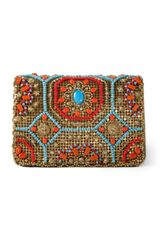 Marchesa Resort Chain Mail Marisol Clutch