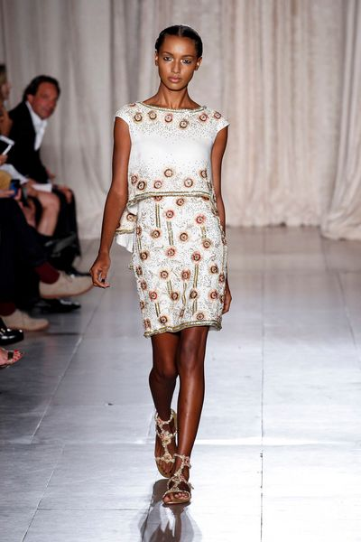 Marchesa Spring 2013 Runway Look 6 in  - Lyst