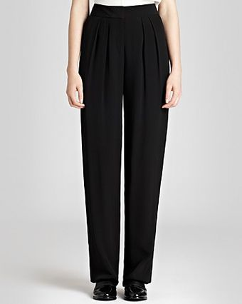 Reiss Trousers Harriet Wide Leg - Lyst