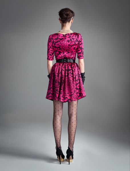 Temperley London Dianthus Dress In Purple Fuschia Mix Lyst
