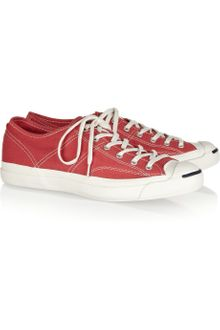 Converse Jack Purcell Helen Canvas Sneakers - Lyst