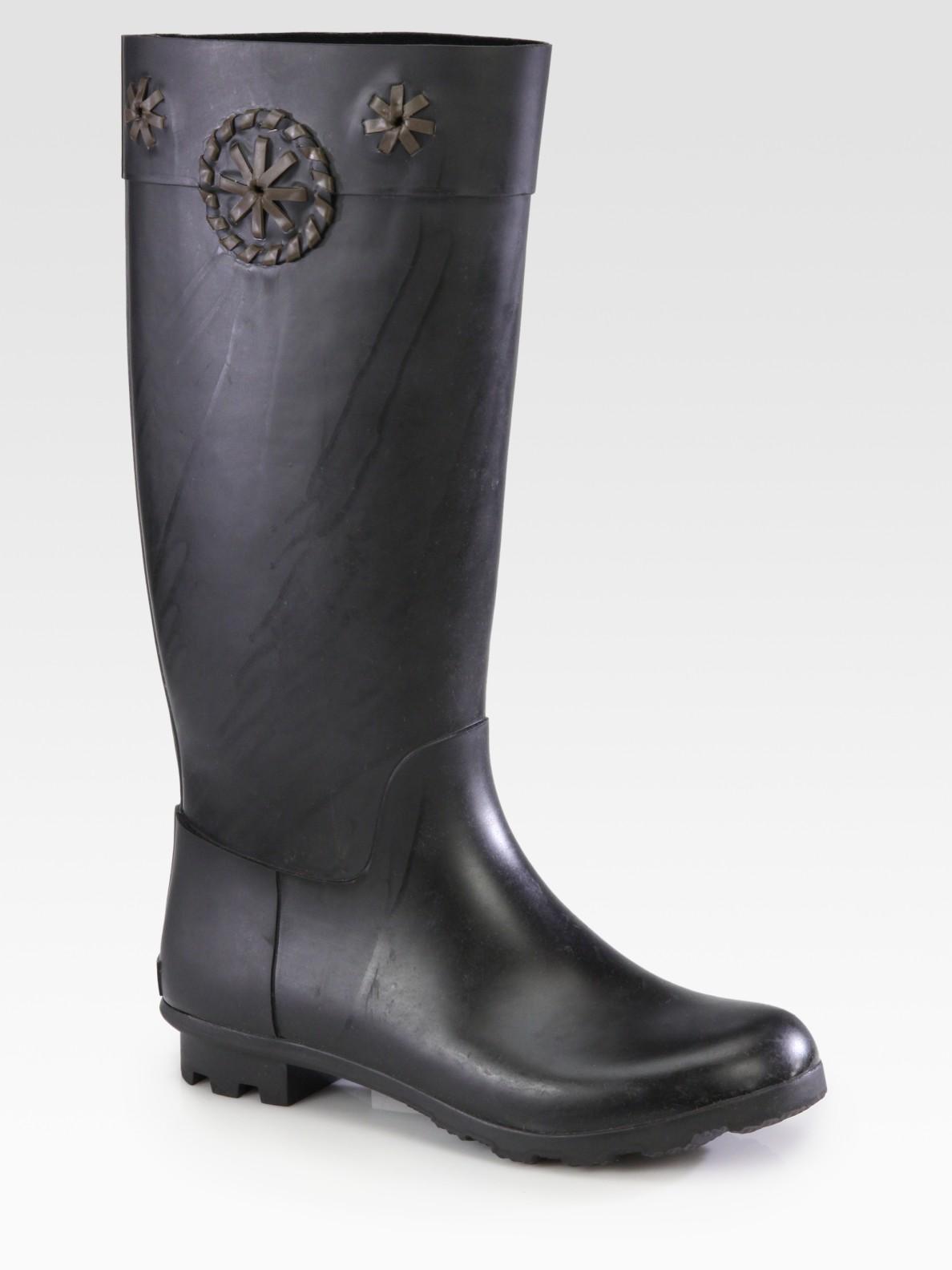 Jack Rogers Whirlaway Tall Rain Boots In Black Lyst