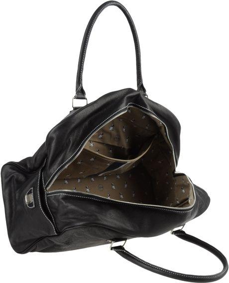 Jack Russell Malletier Travel Duffel Bag In Black For Men