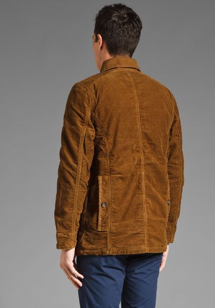 Jack Spade Engel Lined Barn Coat In Brown For Men Lyst