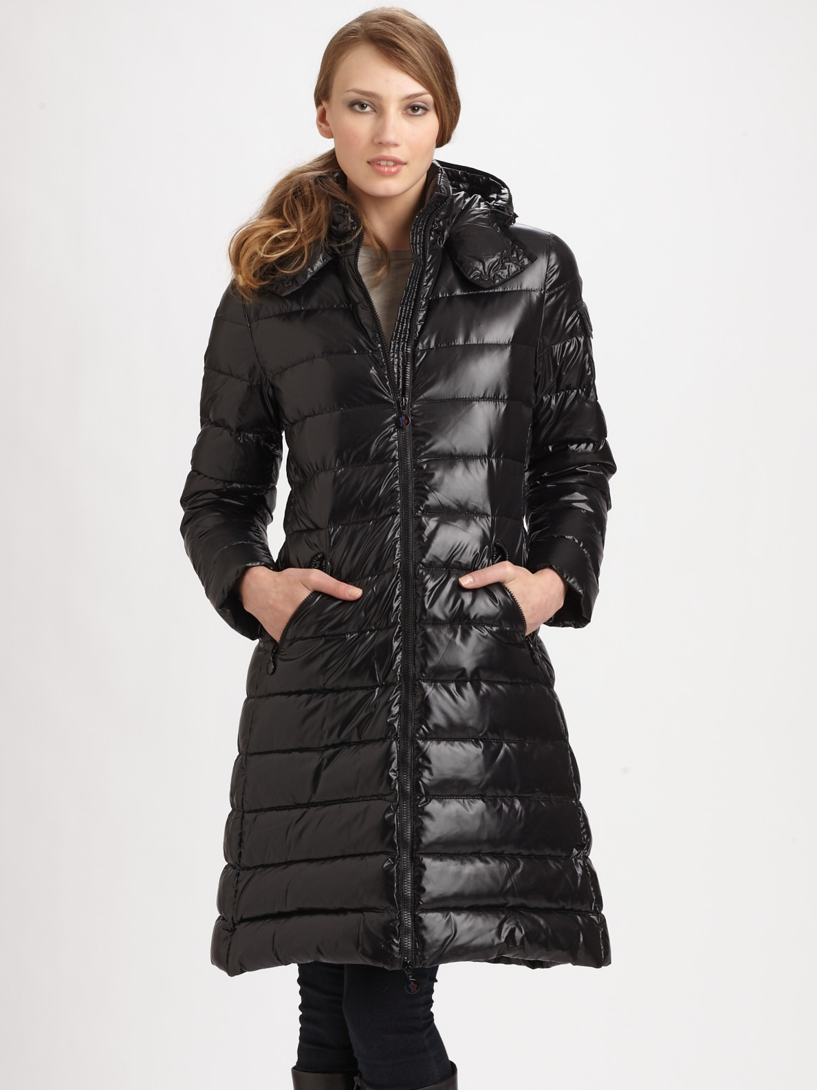 Lyst Moncler Moka Puffer Jacket In Black
