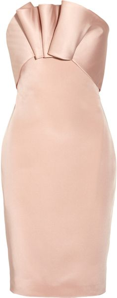 Notte By Marchesa Embellished Silk Jersey Dress in Pink (blush) - Lyst