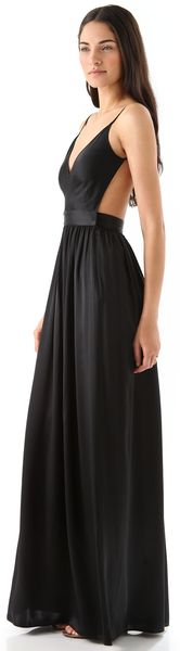One By Contrarian Babs Bibb Maxi Dress - Lyst