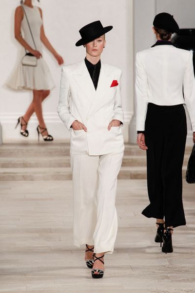 Ralph Lauren Spring 2013 Runway Look 31 in  - Lyst