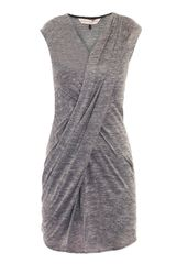 Rebecca Taylor Draped Jersey Dress - Lyst