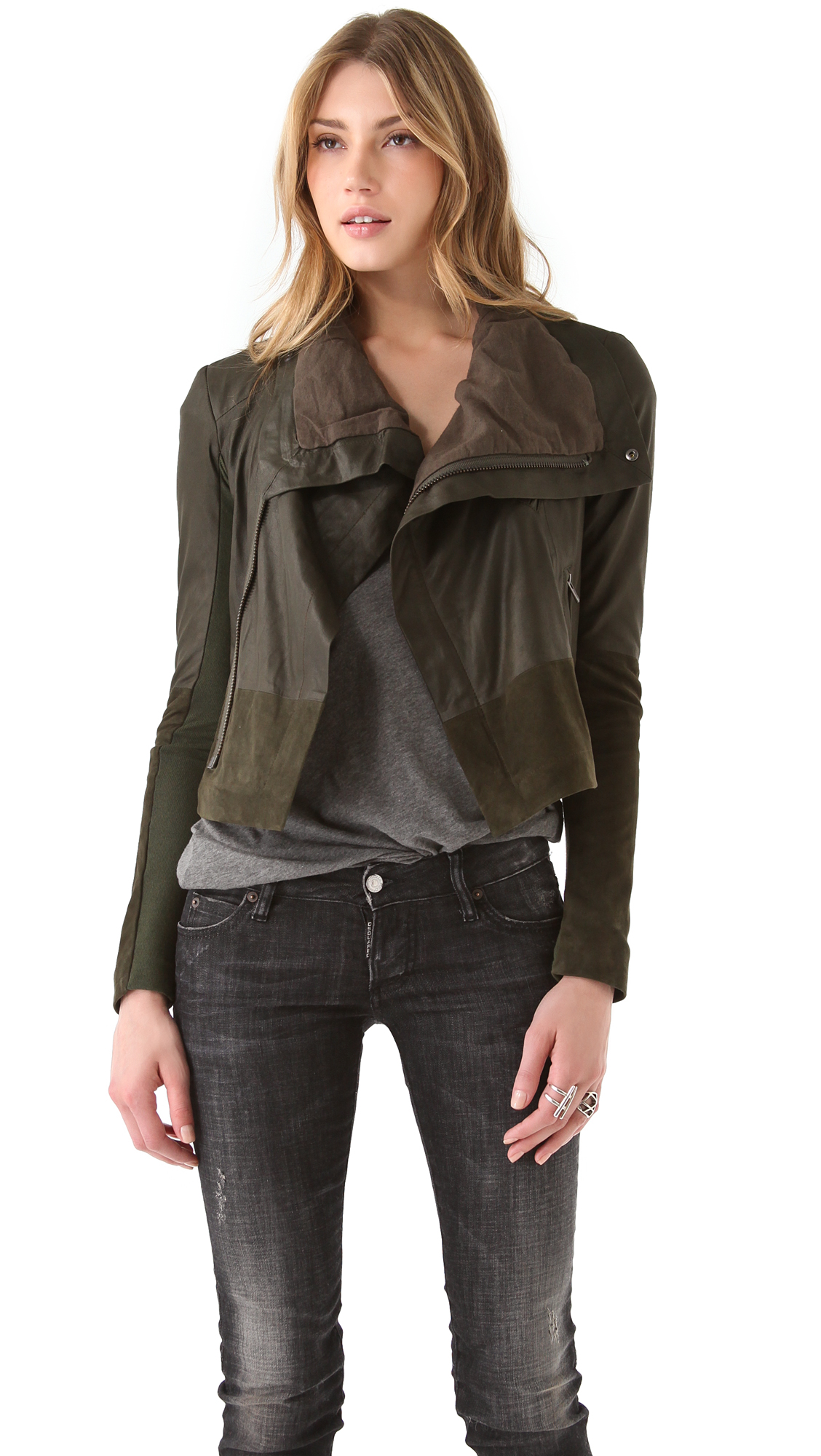 Veda leather jackets