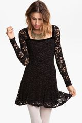 Free People Flirt For You Lace Dress - Lyst