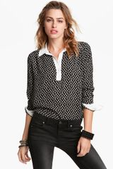 Free People Pony Print Shirt - Lyst
