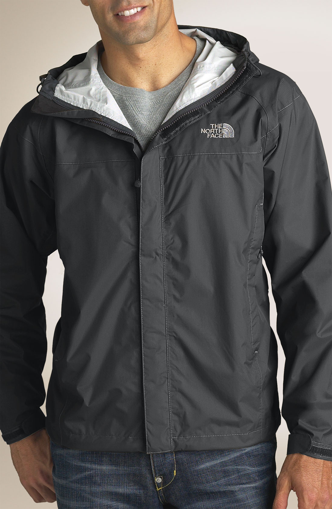ebb5d2266b ... store the north face venture jacket in gray for men lyst f1b3b 2692a ...