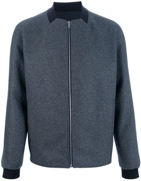 Balenciaga Square Neck Jacket in Gray for Men (grey)