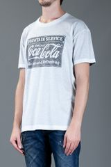 Dolce & Gabbana Coca Cola TShirt in Gray for Men (grey) - Lyst