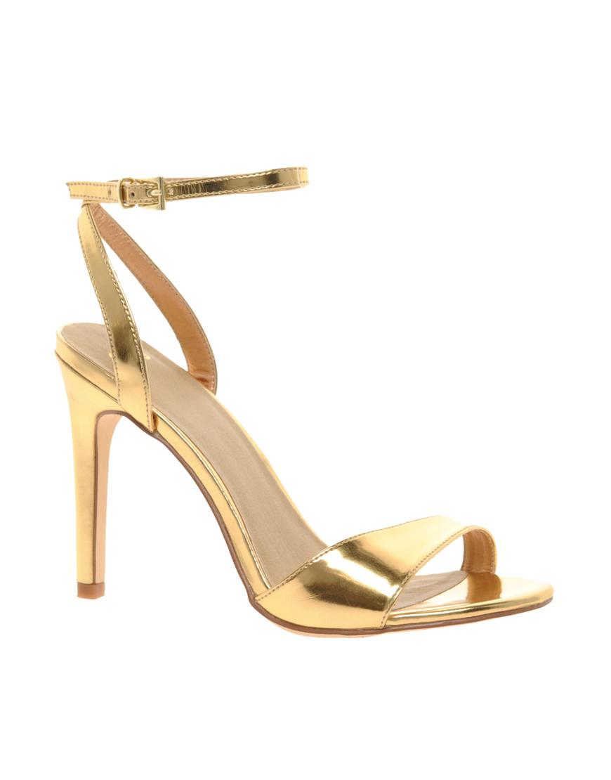 Sandals Gold Heels