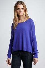 Autumn Cashmere Highlow Hem Cashmere Sweater - Lyst