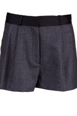 By Malene Birger Plaid Short - Lyst