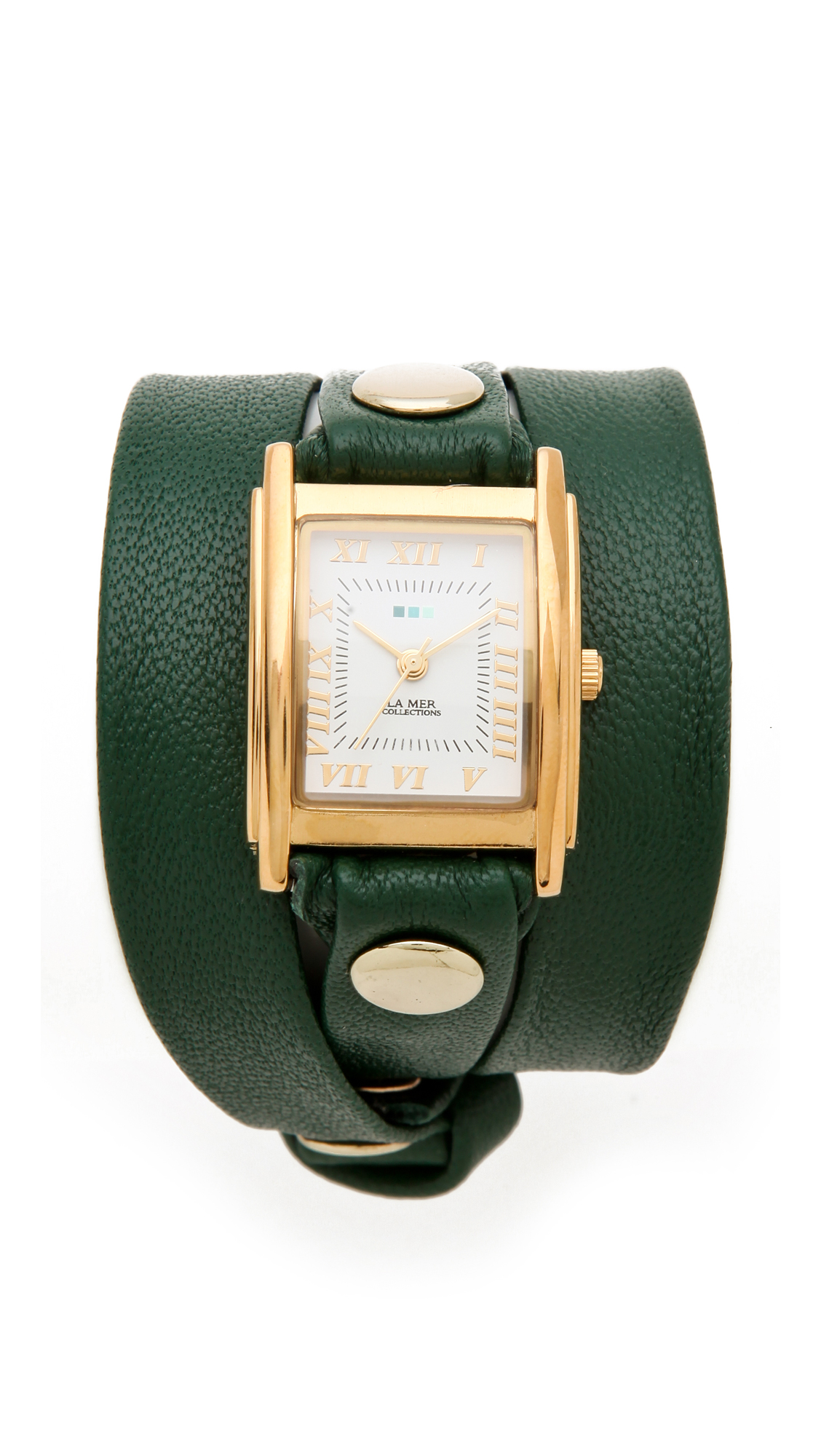 la mer collections simple wrap in green emerald lyst