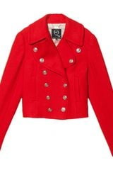 McQ by Alexander McQueen Mini Peacoat - Lyst