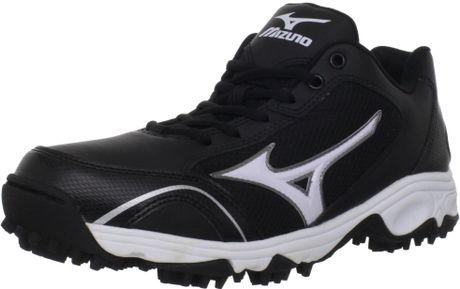Mizuno Mizuno Mens Mizuno 9spike Erupt 2 Turf Shoe in Black for Men