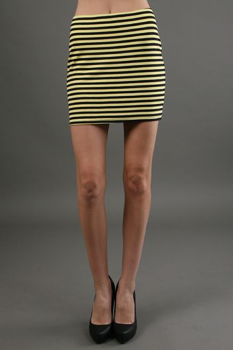 Bailey 44 Stoked Skirt in Navyyellow - Lyst