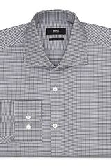 Boss Black Miles Houndstooth Dress Shirt Contemporary Fit - Lyst
