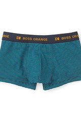 Boss Black Striped Trunks - Lyst