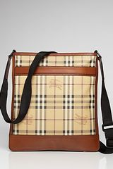 Burberry Flat Crossbody Messenger Bag - Lyst