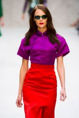 Burberry Prorsum Spring 2013 Runway Look 32 in  - Lyst