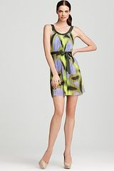 Escada Dress Seiala Oasis Print Mini - Lyst